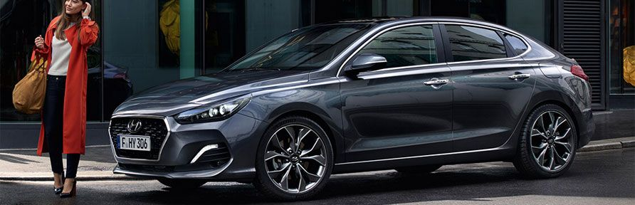 New Hynudai i30 Fastback